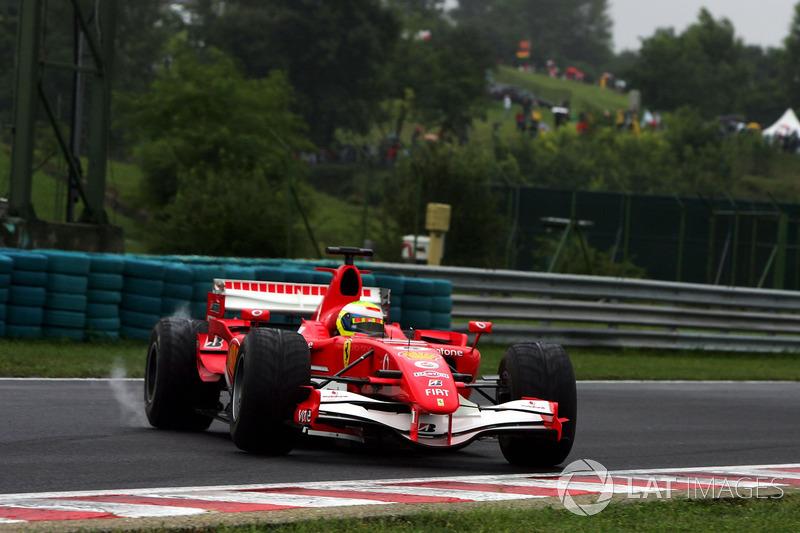 Tête-à-queue pour Felipe Massa, Ferrari 248 F1