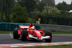 Felipe Massa, Ferrari 248 F1 spin