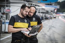 Renault team members at work