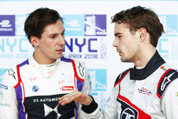 Tom Dillmann, Venturi Formula E, con Alex Lynn, DS Virgin Racing
