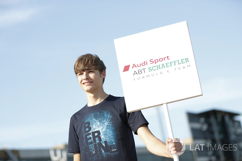 Grid kid for Audi Sport ABT Schaeffler