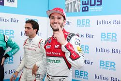 Daniel Abt, Audi Sport ABT Schaeffler, festeggia la pole position