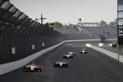Zach Veach, Andretti Autosport Honda, Carlos Munoz, Andretti Autosport Honda