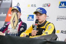 press conference Max Fewtrell, R-Ace Gp