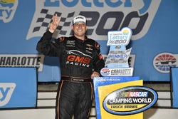 Johnny Sauter, GMS Racing, Chevrolet Silverado ISM Connect wins