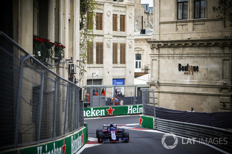 17. Pierre Gasly, Toro Rosso STR13 Honda