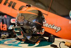 The helmet of Ernie Francis Jr.
