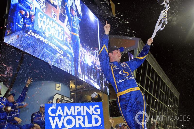 Ganador de la carrera Chase Briscoe, Brad Keselowski Racing Ford