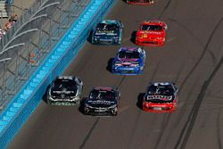 Jeff Green, RSS Racing Chevrolet Camaro, Christopher Bell, Joe Gibbs Racing Toyota, Austin Dillon, R