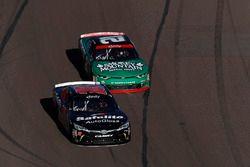 Christopher Bell, Joe Gibbs Racing Toyota, Daniel Hemric, Richard Childress Racing Chevrolet