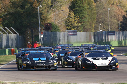 #134 Change Racing: Jeroen Mul, #101 Prestige Performance: Trent Hindman, Ricardo Agostini
