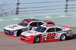 Sam Hornish Jr, Team Penske Ford, William Byron, JR Motorsports Chevrolet