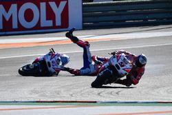Danilo Petrucci, Pramac Racing, chute de Scott Redding, Pramac Racing