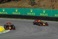Daniel Ricciardo, Red Bull Racing RB13 e Max Verstappen, Red Bull Racing RB13