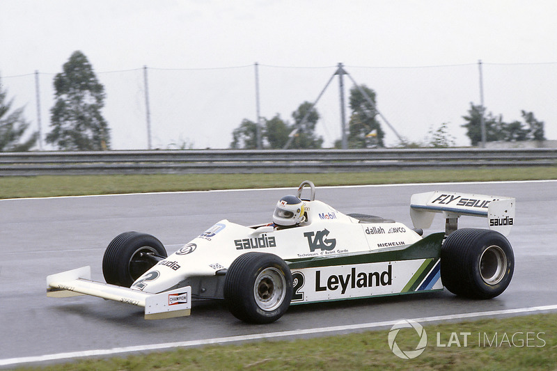 1981: Carlos Reutemann, Williams - (Jacarepaguá)