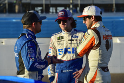Ricky Stenhouse Jr., Roush Fenway Racing Ford, Ryan Blaney, Wood Brothers Racing Ford, Chase Elliott