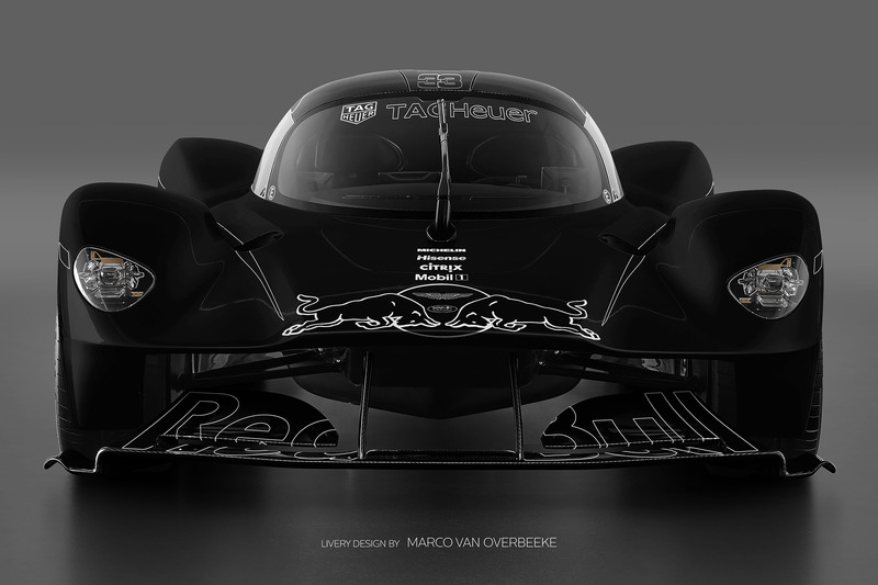 Valkyrie Red Bull livery 5