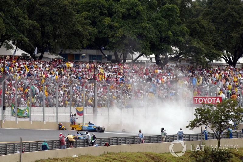 Le crash de Fernando Alonso, Renault R23