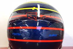 Il casco speciale di Charles Leclerc, Sauber, per il GP di Monaco