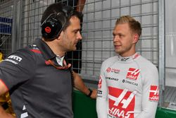 Kevin Magnussen, Haas F1 on the grid