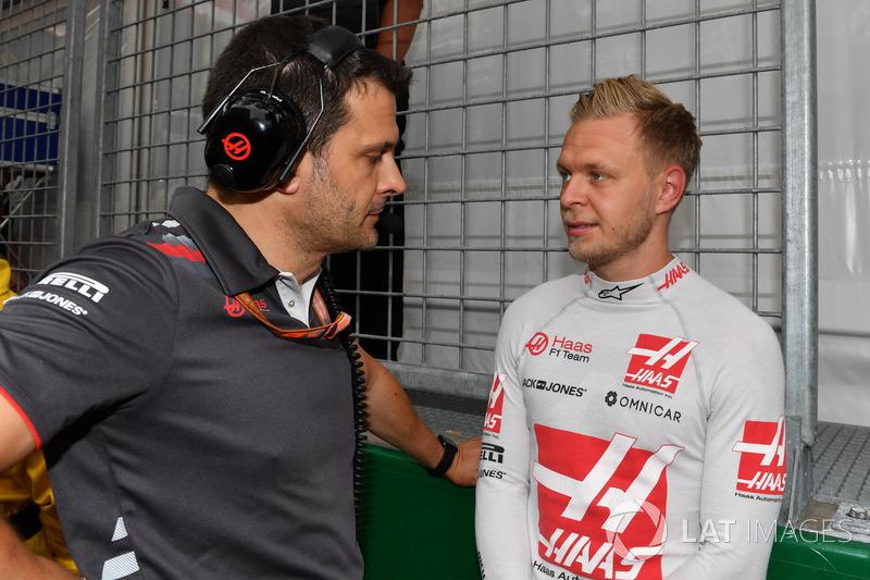 Kevin Magnussen, Haas F1 na polu startowym