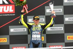 Podium SSP300: third place Borja Sanchez