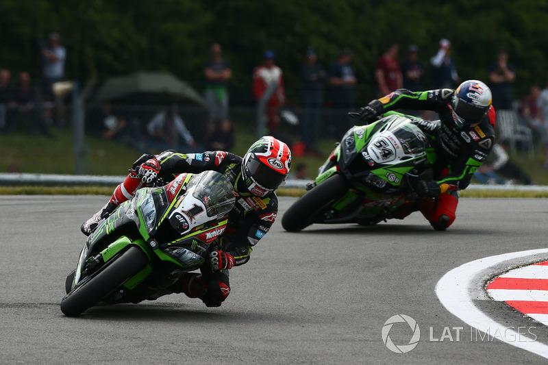 Jonathan Rea, Kawasaki Racing, Toprak Razgatlioglu, Kawasaki Puccetti Racing