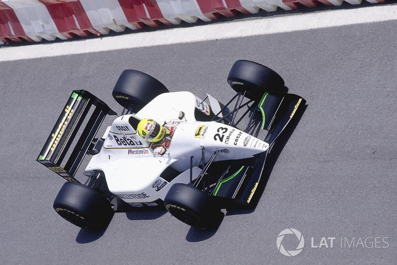 Кристиан Фиттипальди, Minardi M193 Ford