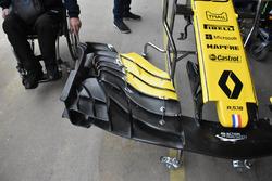 Detalle del alerón delantero Renault Sport F1 Team RS18
