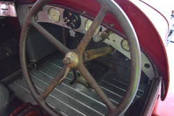 Abitacolo vettura storica