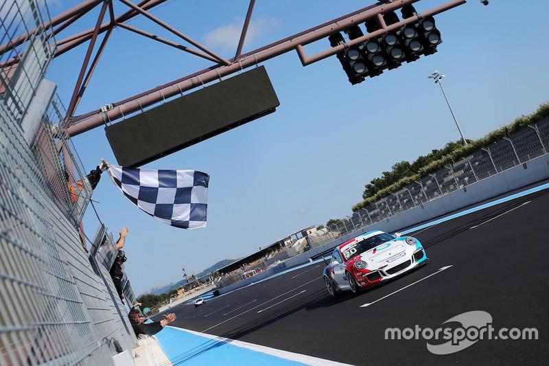 Claudio Giudice, Guest Car, prende la bandiera a scacchi