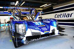 #47 Cetilar Villorba Corse Dallara P217 - Gibson: Roberto Lacorte, Giorgio Sernagiotto, Andrea Belicchi