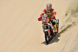 #119 KTM: Oswaldo Burga