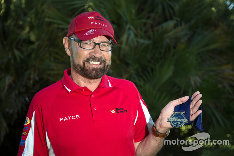 John Bowe is the 53rd inductee of the Australian Motor Sport Hall of Fame