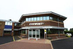 A Cosworth northamptoni gyára