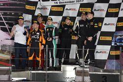 GTX3 class podium