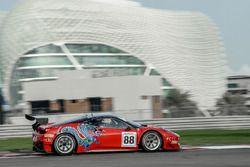 #88 Dragon Racing Ferrari 458 GT3: John Hartshorne, Ollie Hancock, David Perel, Greg Caton