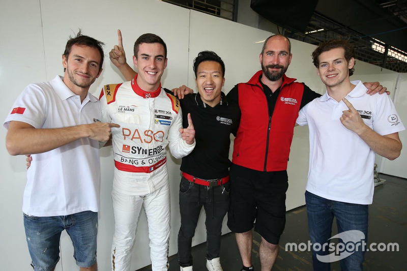Stéphane Richelmi, Harrison Newey, Thomas Laurent, Jackie Chan DC Racing