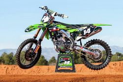 #14 Moto de Jed Beaton, F&H Racing Team