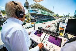 Formula 1 Grand Prix'si yönetmek
