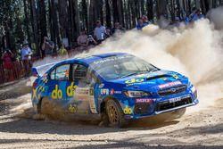 Molly Taylor, Malcolm Read Subaru WRX STI, Subaru do Motorsport team