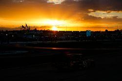 Spencer Davis, Kyle Busch Motorsports, Rheem Toyota Tundra, sunset