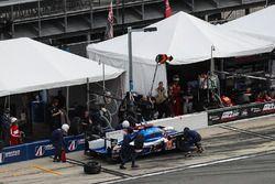 Pitstop, #32 United Autosports Ligier LMP2, P: Will Owen, Hugo de Sadeleer, Bruno Senna, Paul di Res