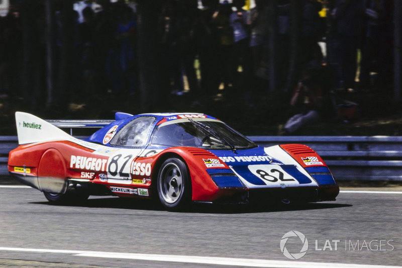 Thierry Boutsen, Serge Saulnier, Michel Pignard, WM P81 Peugeot PRV 2.7L Turbo V6