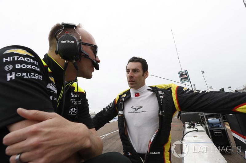 Simon Pagenaud, Team Penske Chevrolet, Ben Bretzman
