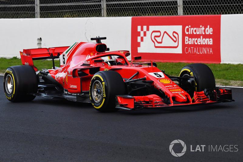 #5 Sebastian Vettel, Ferrari