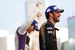 Sam Bird, DS Virgin Racing, celebra después de ganar la carrera