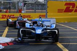 Nicolas Prost, Renault e.Dams, leads Maro Engel, Venturi Formula E