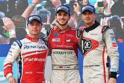Podio: il vincitore Daniel Abt, Audi Sport ABT Schaeffler, il secondo classificcato Felix Rosenqvist
