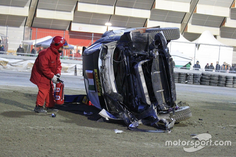 L'incidente di Oliver Solberg, Ford Fiesta WRC